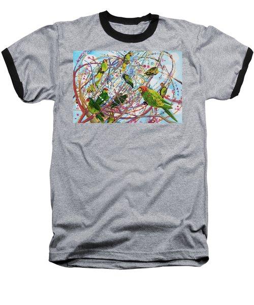 Parrot Bramble Baseball T-Shirt