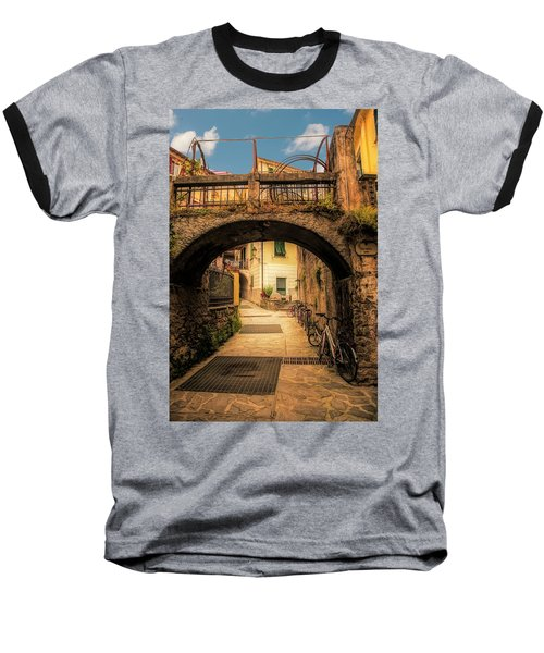 Passageway In Monterosso Baseball T-Shirt