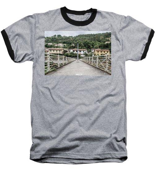 Pedestrian Walkway Baseball T-Shirt