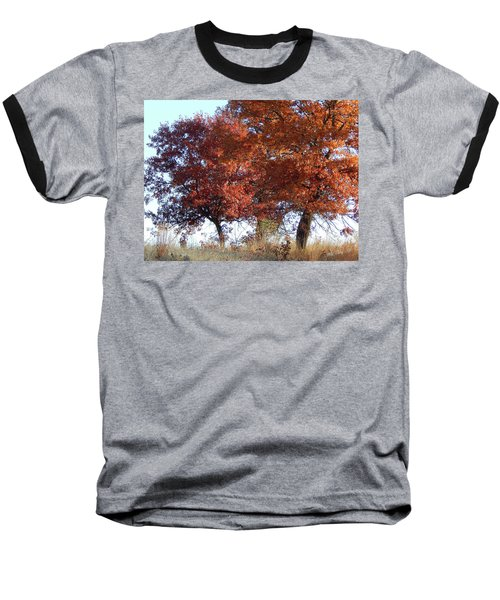 Passing Autumn Baseball T-Shirt
