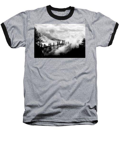 Passing Storm Central Idaho Mountains Baseball T-Shirt