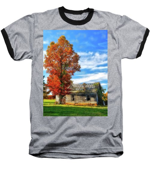Past Its Prime Vintage Autumn Barn Ap Baseball T-Shirt