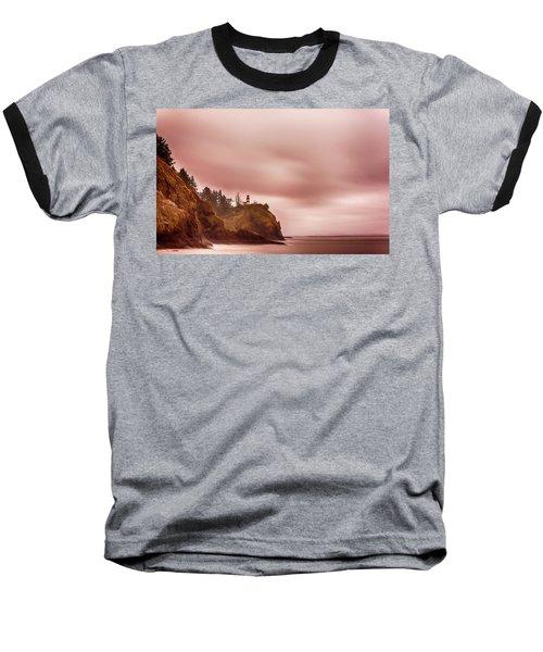 Pastel Seascape Baseball T-Shirt