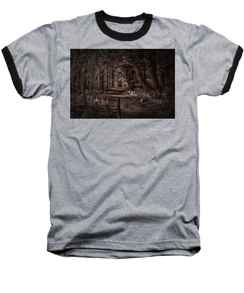 Path In Forest #i0 Baseball T-Shirt