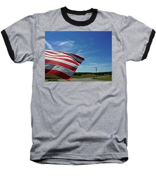 Peaceful Summer Day Baseball T-Shirt
