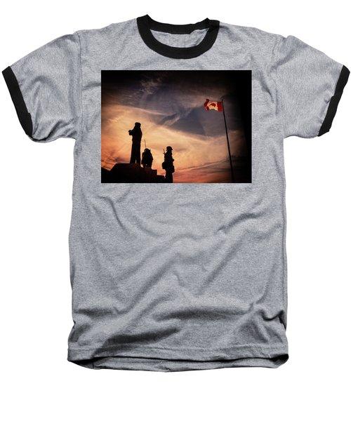 Peacekeepers Baseball T-Shirt