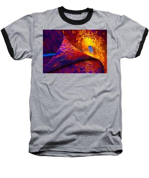 Peeling Back Time Baseball T-Shirt