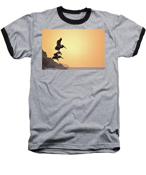 Pelican Down Baseball T-Shirt