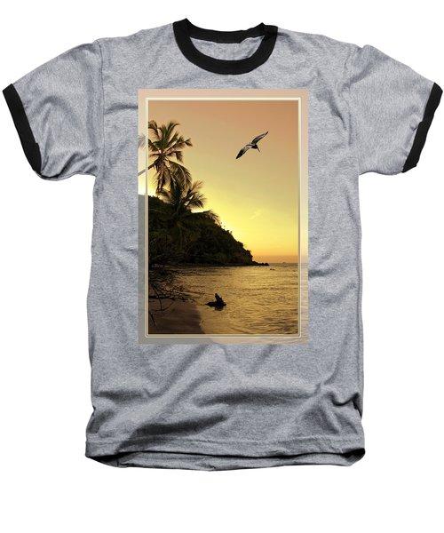 Pelican Sundown Baseball T-Shirt