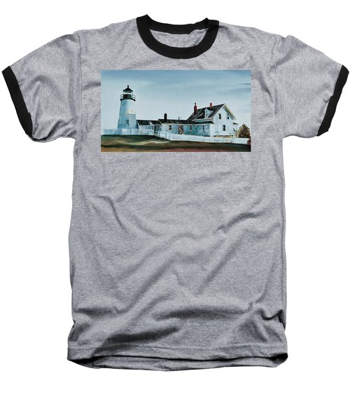 Pemaquid Light Baseball T-Shirt