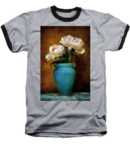 Peonies In Spring Baseball T-Shirt