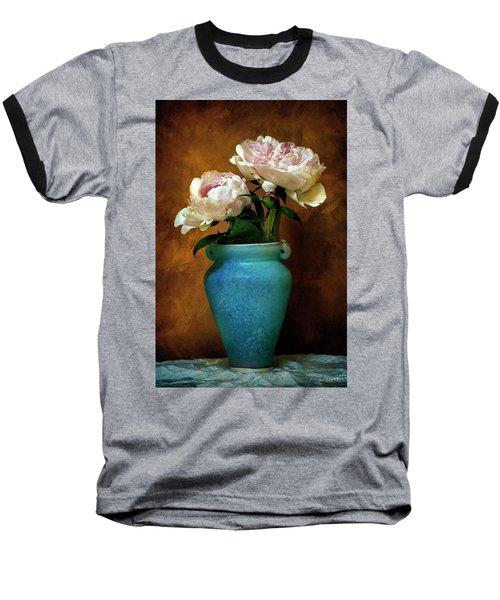 Peonies In Spring Baseball T-Shirt