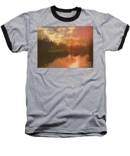 Baseball T-Shirt featuring the photograph Perchance To Dream by Leigh Kemp