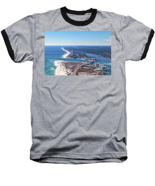 Perdido Pass Bridge Baseball T-Shirt