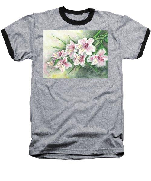 Peruvian Lilies Baseball T-Shirt