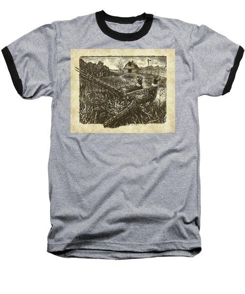 Pheasants Baseball T-Shirt