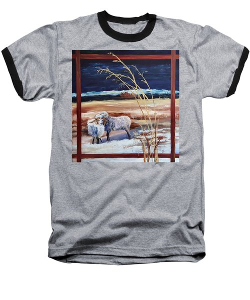 Phil And Alice Navajo Sheep    38 Baseball T-Shirt