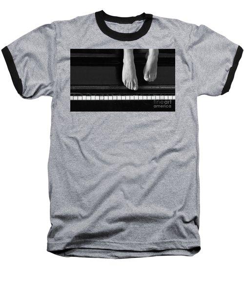 Piano #0215az Baseball T-Shirt