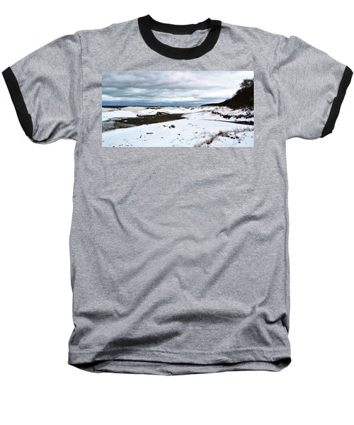 Pier Cove To The North Baseball T-Shirt