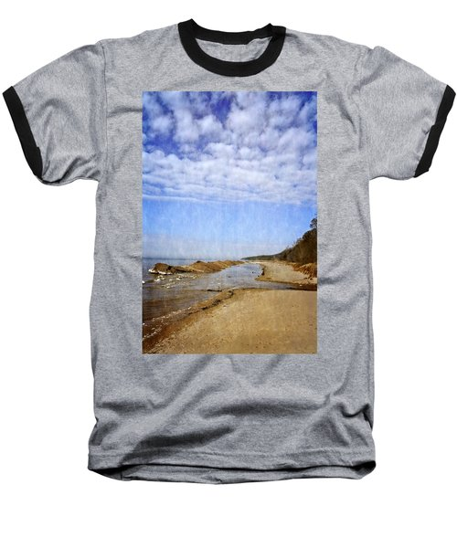 Pier Cove With Big Sky Baseball T-Shirt