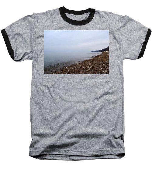 Pier Cove With Stoney Beach 1.0 Baseball T-Shirt
