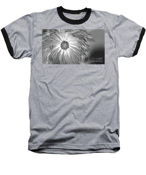 Pine Cone With Needle Halo Baseball T-Shirt