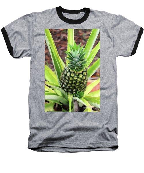 Pineapple Baseball T-Shirt