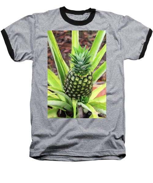 Pineapple Baseball T-Shirt