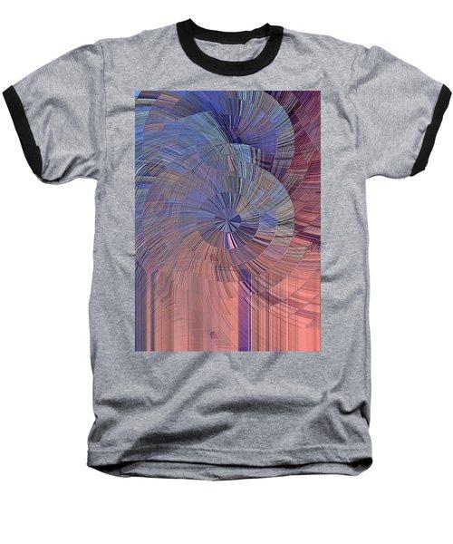 Pink, Blue And Purple Baseball T-Shirt