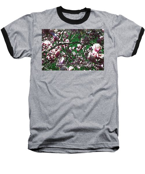 Pink Bush Baseball T-Shirt