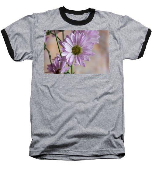 Pink Daisies-5 Baseball T-Shirt