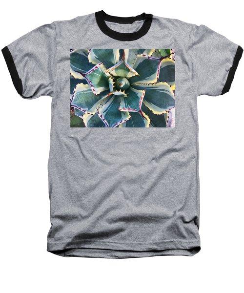 Pinwheel Succulent Baseball T-Shirt