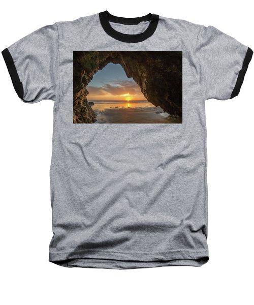 Pismo Caves Sunset Baseball T-Shirt