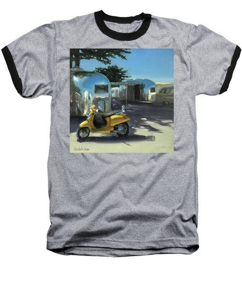 Pismo Vintage Rally Baseball T-Shirt