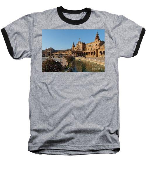 Plaza De Espana Bridge View Baseball T-Shirt