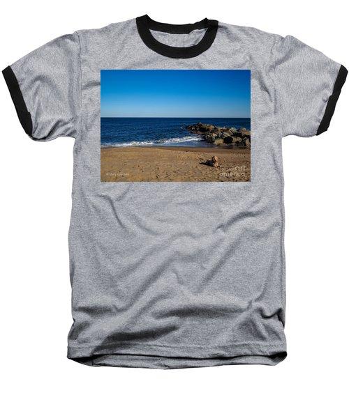 Plum Island Scene Baseball T-Shirt