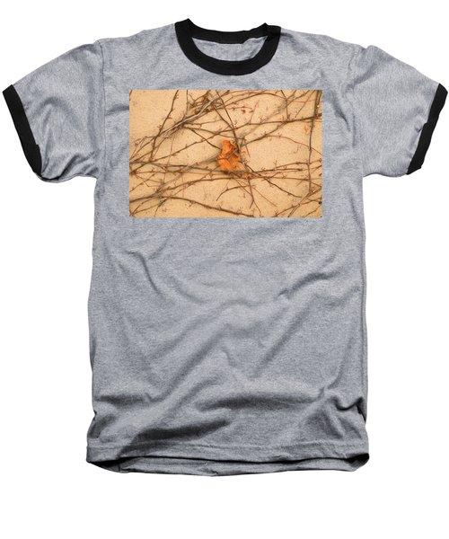 Baseball T-Shirt featuring the mixed media Poignant 4 by Lynda Lehmann