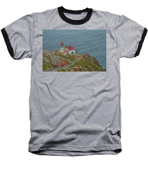 Point Reyes Lighthouse Baseball T-Shirt