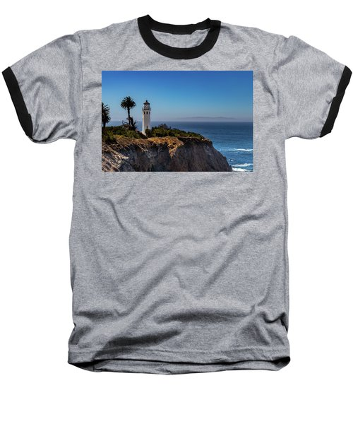 Point Vicente Lighthouse Baseball T-Shirt