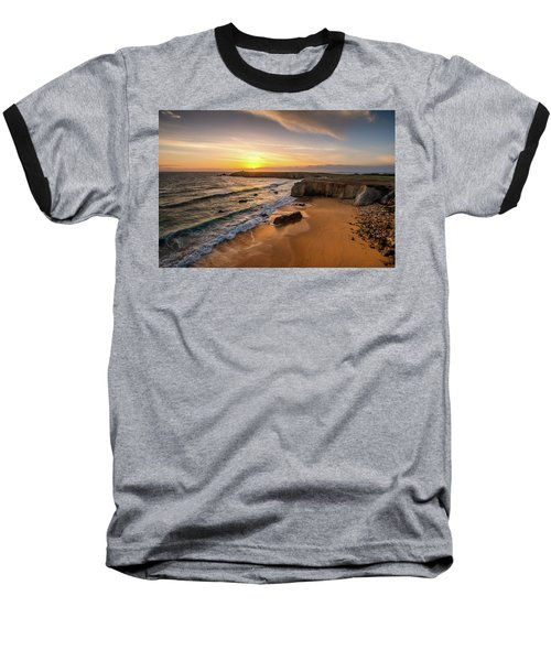 Pointe Du Percho And Port Blanc Baseball T-Shirt