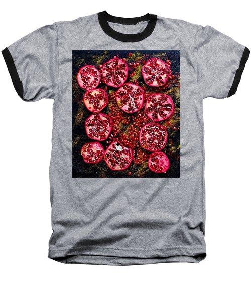 Pomegranate New Year Baseball T-Shirt