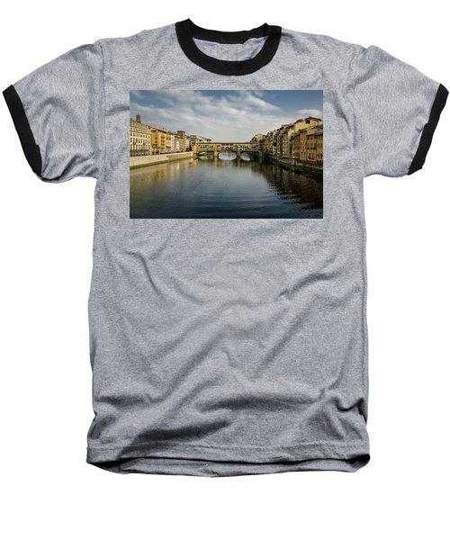 Ponte Vecchio Baseball T-Shirt