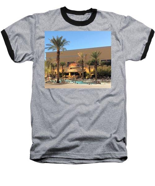 Poolside Baseball T-Shirt