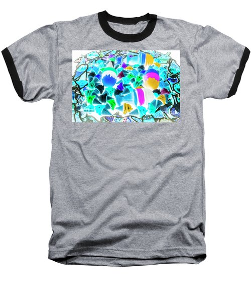 Pop-art-sicles Baseball T-Shirt
