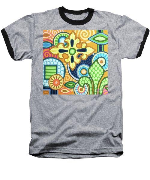 Pop Botanical 1 Baseball T-Shirt