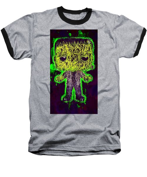 Frankenstein Pop 2 Baseball T-Shirt
