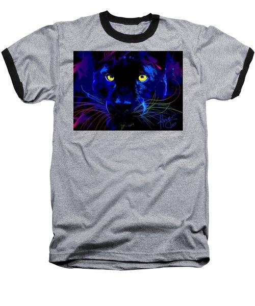 pOpCat Black Panther Baseball T-Shirt