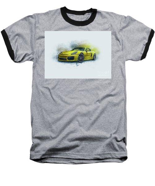 Porsche 911 Baseball T-Shirt
