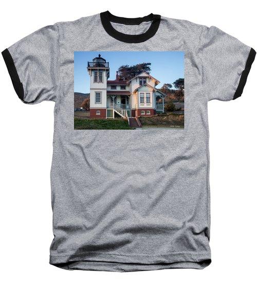 Port San Luis Lighthouse Baseball T-Shirt