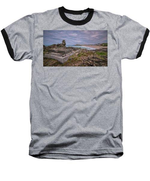 Porthmeor Beach January View Baseball T-Shirt